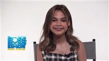 Ariana Greenblatt on voicing Tabitha in 'The Boss Baby: Family Business' Video