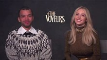 Justice Smith and Sydney Sweeney on starring in 'The Voyeurs' Video