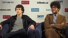 Jesse Eisenberg & Richard Ayoade (The Double) Video