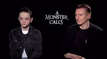 Lewis MacDougall & Liam Neeson Interview