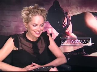 Sharon Stone Catwoman Interview 2004 Movie Interview