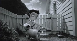 Frankenweenie Movie Trailer