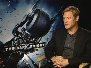 Aaron Eckhart (The Dark Knight)- Interview Video Thumbnail