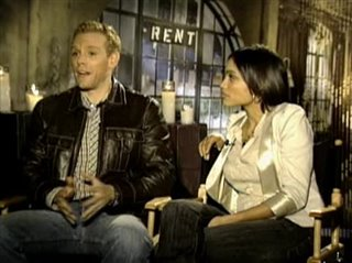 ADAM PASCAL & ROSARIO DAWSON - RENT - Interview Video Thumbnail