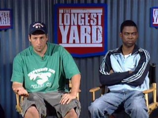 ADAM SANDLER & CHRIS ROCK - THE LONGEST YARD - Interview Video Thumbnail