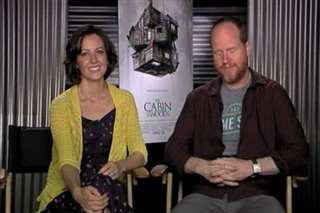Amy Acker & Joss Whedon (The Cabin in the Woods) - Interview Video Thumbnail