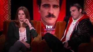 Amy Adams & Joaquin Phoenix (Her) - Interview Video Thumbnail