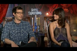Andy Samberg & Selena Gomez (Hotel Transylvania)- Interview Video Thumbnail