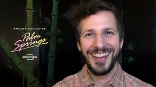andy-samberg-talks-about-practical-jokes-in-romantic-comedy-palm-springs Video Thumbnail
