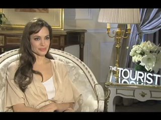 Angelina Jolie (The Tourist)- Interview Video Thumbnail