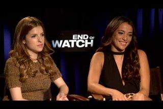 Anna Kendrick & Natalie Martinez (End of Watch)- Interview Video Thumbnail