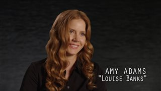 "Arrival Featurette - ""Amy Adams as Louise"" Video Thumbnail"