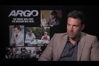 Ben Affleck (Argo)- Interview Video Thumbnail
