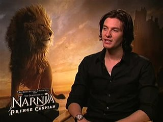 Ben Barnes (The Chronicles of Narnia: Prince Caspian) - Interview Video Thumbnail