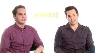Ben Platt & Skylar Astin (Pitch Perfect 2) - Interview Video Thumbnail