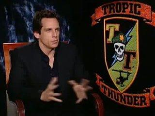 Ben Stiller (Tropic Thunder) - Interview Video Thumbnail