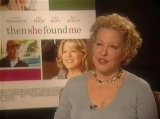 Bette Midler (Then She Found Me)- Interview Video Thumbnail