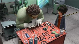 big-hero-6-movie-clip-meet-the-team-wasabi Video Thumbnail
