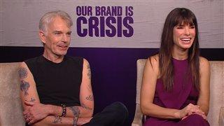 Billy Bob Thornton & Sandra Bullock - Our Brand Is Crisis- Interview Video Thumbnail