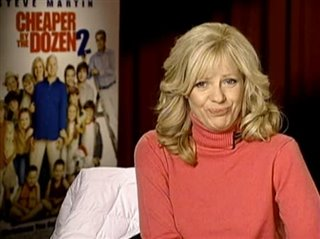 BONNIE HUNT (CHEAPER BY THE DOZEN 2)- Interview Video Thumbnail