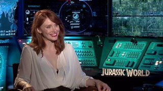 Bryce Dallas Howard (Jurassic World)- Interview Video Thumbnail