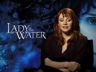 BRYCE DALLAS HOWARD (LADY IN THE WATER)- Interview Video Thumbnail