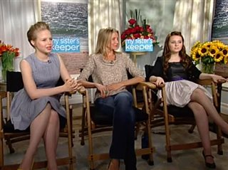 Cameron Diaz, Abigail Breslin & Sofia Vassilieva (My Sister's Keeper)- Interview Video Thumbnail