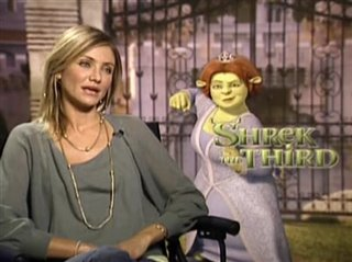 Cameron Diaz (Shrek the Third)- Interview Video Thumbnail