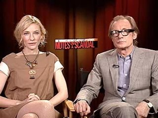 Cate Blanchett & Bill Nighy (Notes on a Scandal)- Interview Video Thumbnail