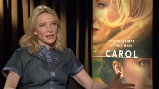 Cate Blanchett - Carol- Interview Video Thumbnail