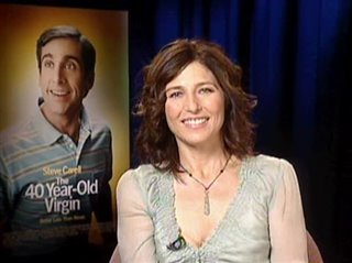 CATHERINE KEENER - THE 40 YEAR-OLD VIRGIN - Interview Video Thumbnail