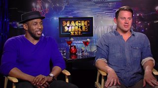 Channing Tatum & Steven 'tWitch' Boss Interview - Magic Mike XXL Video Thumbnail