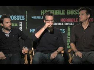 Charlie Day, Jason Sudeikis & Jason Bateman (Horrible Bosses)- Interview Video Thumbnail