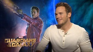 Chris Pratt (Guardians of the Galaxy)- Interview Video Thumbnail