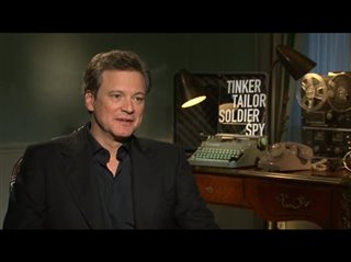 Colin Firth (Tinker Tailor Soldier Spy) - Interview Video Thumbnail