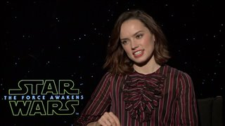 Daisy Ridley Interview - Star Wars: The Force Awakens Video Thumbnail