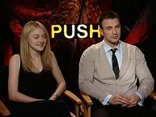 dakota-fanning-chris-evans-push Video Thumbnail