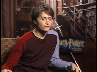 Daniel Radcliffe (Harry Potter and the Chamber of Secrets)- Interview Video Thumbnail