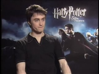 Daniel Radcliffe (Harry Potter and the Order of the Phoenix)- Interview Video Thumbnail