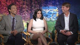 Danny Pudi, Ariel Winter & Jack McBrayer Interview - Smurfs: The Lost Village Video Thumbnail
