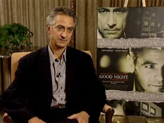 DAVID STRATHAIRN (GOOD NIGHT, AND GOOD LUCK.)- Interview Video Thumbnail