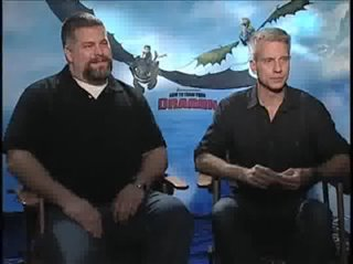 Dean DeBlois & Chris Sanders (How to Train Your Dragon)- Interview Video Thumbnail
