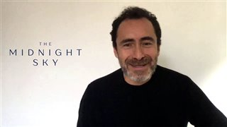 Demián Bichir talks about George Clooney's 'The Midnight Sky' - Interview Video Thumbnail