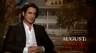 Dermot Mulroney (August: Osage County)- Interview Video Thumbnail