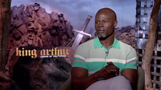 djimon-hounsou-interview-king-arthur-legend-of-the-sword Video Thumbnail