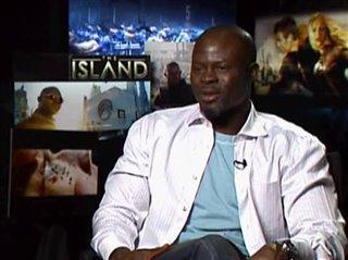 DJIMON HOUNSOU - THE ISLAND - Interview Video Thumbnail