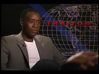 Don Cheadle (Traitor)- Interview Video Thumbnail