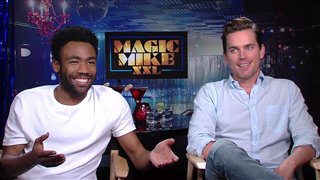 Donald Glover & Matt Bomer Interview - Magic Mike XXL Video Thumbnail