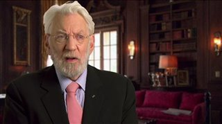 Donald Sutherland (The Hunger Games: Mockingjay - Part 1)- Interview Video Thumbnail