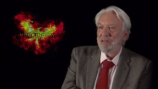 Donald Sutherland - The Hunger Games: Mockingjay - Part 2- Interview Video Thumbnail